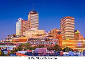 cityscape, massachusetts, boston, usa