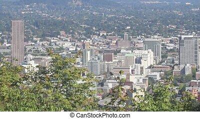 cityscape, mt, portland, capuchon