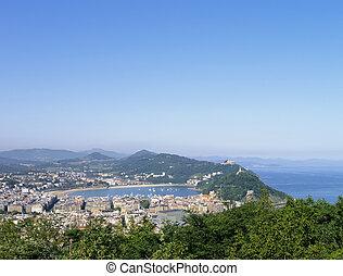 Cityscape of Donostia - San Sebastian