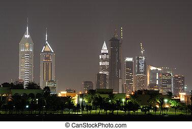 Cityscape of Dubai, United Arab Emirates