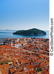 Cityscape of Dubrovnik, Croatia, Europe