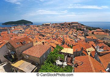 Cityscape of Dubrovnik, Croatia
