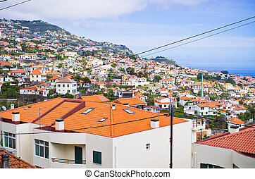 Cityscape of Funchal - Madeira island, Portugal