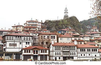 Cityscape of Goynuk from Turkey