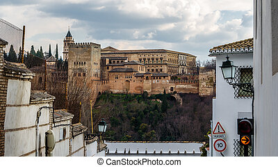 Cityscape of Granada, Spain