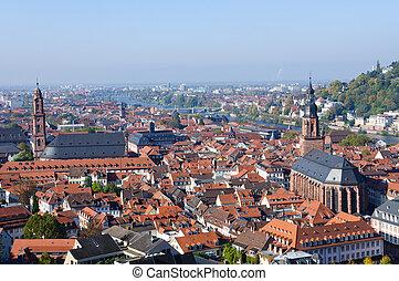 Cityscape of Heidelberg, Germany - Heidelberg is a popular...