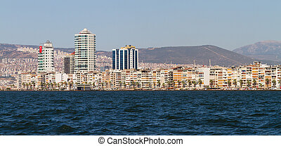 Cityscape of Izmir, Turkey