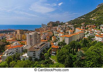 Cityscape of Monaco