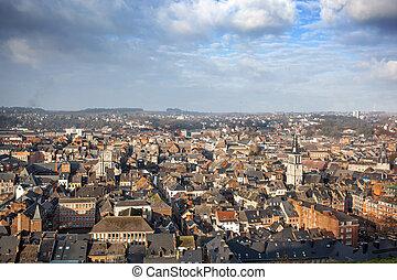 Cityscape of Namur, Belgium
