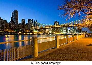 Cityscape of New York City