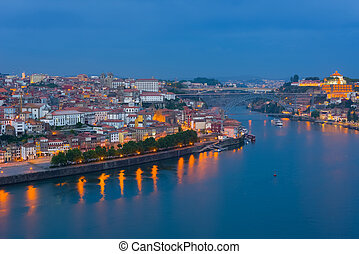 Porto at a spring night