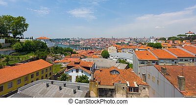 Porto in a summer day