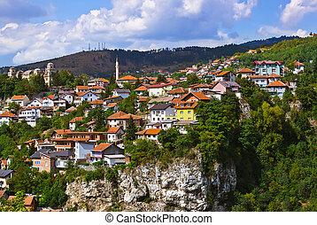 Cityscape of Sarajevo - Bosnia and Herzegovina