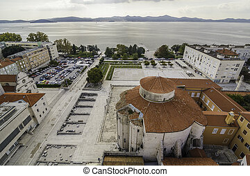 Cityscape of the historic city of ZAdar