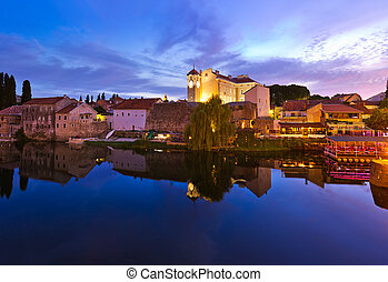 Cityscape of Trebinje - Bosnia and Herzegovina - architecture travel background