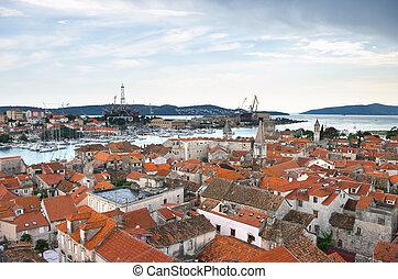 Cityscape of Trogir, Croatia