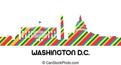 Cityscape of Washington D.C.