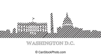 Cityscape of Washington D.C.