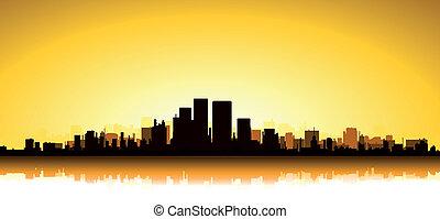 cityscape, or