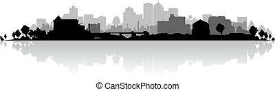 cityscape, plano de fondo