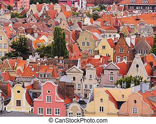 Cityscape, Polônia,  Gdansk