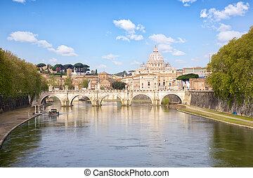 cityscape, roma, vaticano