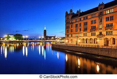 cityscape, stockholm
