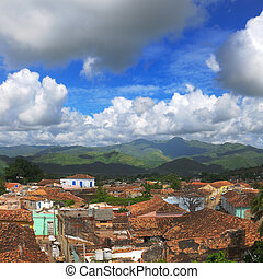 cityscape, trinidad