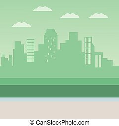 cityscape, urbain, paysage