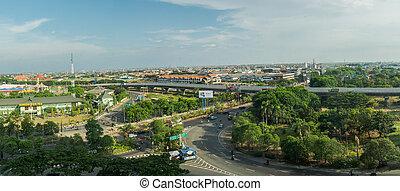 cityscape, van, surabaya