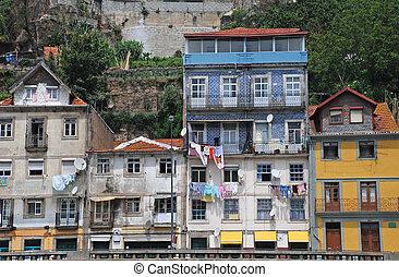 cityscape, von, porto, portugal