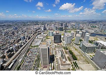 cityscape, yokohama