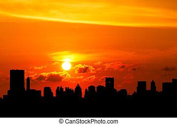 Cityscapes - Bangkok cityscapes  view