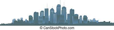 cityscapes, körvonal, háttér