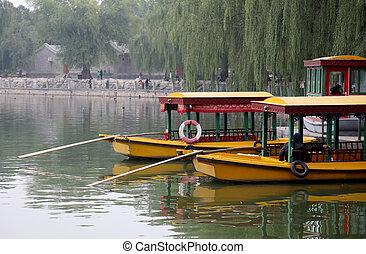 ciudad, beihai, jardín, beijing, --, prohibido, parque, ...