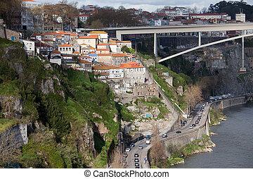 ciudad, de, porto, en, portugal