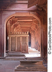 ciudad, emperador, akbar, pradesh, sikri, fatehpur, mughal, ...