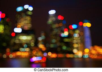 ciudad enciende