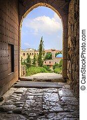 ciudad, histórico, líbano, byblos