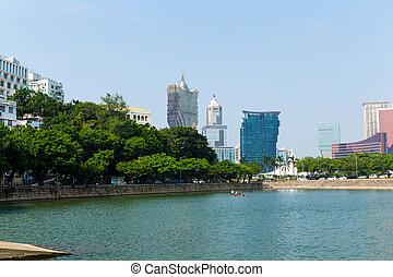 ciudad, macao