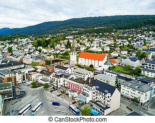 ciudad, noruega, molde