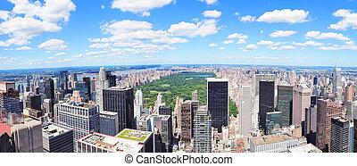 ciudad nueva york, manhattan, centro de la ciudad