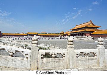 ciudad, prohibido, beijing