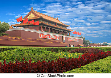 ciudad, prohibido, china