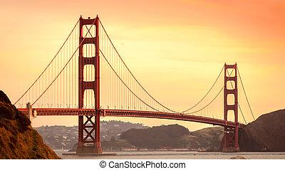 ciudad, puente