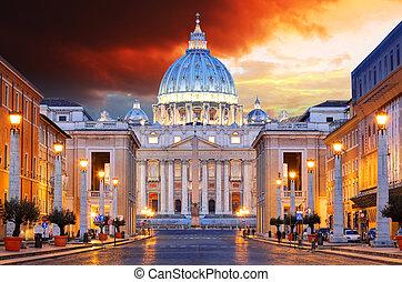ciudad, roma, vaticano