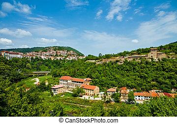 ciudad, (tarnovo), viejo, veliko, tirnovo, bulgaria