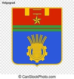 ciudad, vector, emblema, ilustración