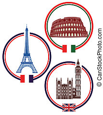 ciudades, europa