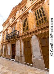Ciutadella Menorca historic downtown in Ciudadela